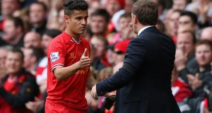 Philippe Coutinho: is expected to feature for Liverpool at the Aviva Stadium this evening (5.30pm).