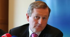 "Taoiseach Enda Kenny: ""nobody should be above law, and . . . we cannot have one law for one and a different one for somebody else."" Photograph: Gareth Chaney/Collins."