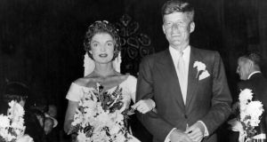 The couple were married on September 12th, 1953 in Newport, Rhode Island.