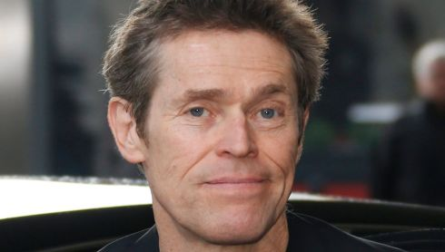 Cannes jury member, US actor Willem Dafoe, arrives at the Martinez Hotel.  Photograph: Guillaume Horcajuelo/EPA