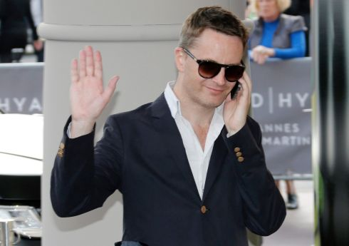 Jury member, Danish director Nicolas Winding Refn, arrives.  Photograph: Guillaume Horcajuelo/EPA