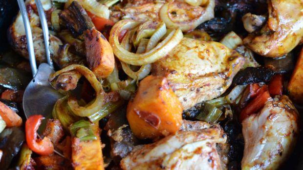 Turkish Chicken Bake