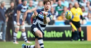 Danny Cipriani of Sale spins the ball out during the Aviva Premiership match between Sale Sharks and Leicester Tigers. Photo: Jan Kruger/Getty Images