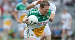 Offaly manager Emmet McDonnell is hoping the return of the likes of Brian Darby can boost his team. Photograph: Inpho