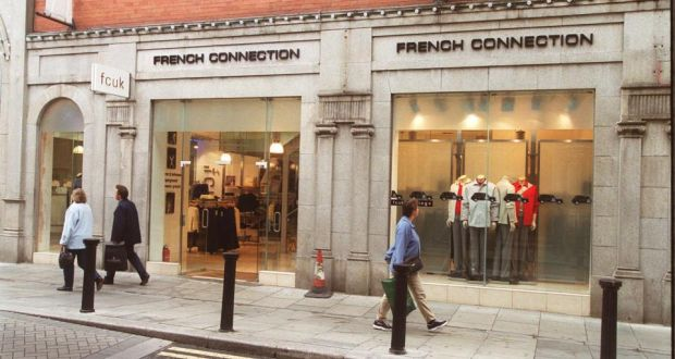 62798827c16 French Connection near the entrance to the Powerscourt Townhouse Centre in  Dublin. The fashion group