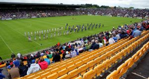 Under the redevelopment plan, Páirc Uí Chaoimh will see its capacity increase from 43,500 to 45,000 people, with the existing covered South Stand (with a current capacity of 9,000) being replaced by a three-tier structure with a total capacity of 13,000. Photograph: Lorraine O'Sullivan/Inpho
