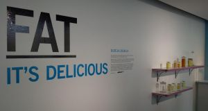 Fat: It's Delicious opens tomorrow and runs until June 29th. Photograph: Dick Ahlstrom/The Irish Times