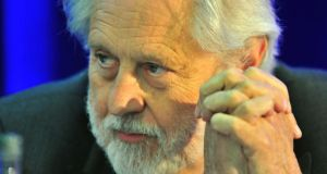 David Puttnam. Photograph Michael Mac Sweeney/Provision