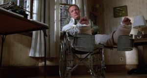 Misery: The writing process has been a recurring subject in Stephen King's work, but his 1985 novel is arguably his best recreation of the life of a writer, Paul Sheldon (played here by James Caan) the process of writing fiction, and the very literal dangers of disappointing a loyal readership.