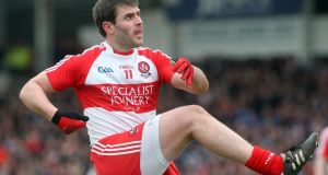 Derry captain Mark Lynch