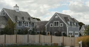 The former Cape Cod home of David Drumm, former CEO of Anglo Irish Bank. Photograph: Cape Cod Times