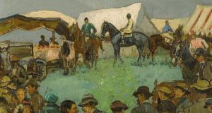 Wicklow Hunt Point to Point Races by Letitia Marion Hamilton, £15,000-£25,000, at  Sotheby's, London.