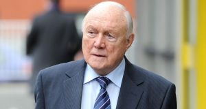 Broadcaster Stuart Hall has been been found not guilty by a jury at Preston Crown Court of raping two young girls, but he was convicted of one count of indecent assault. Photograph: Martin Rickett/PA Wire