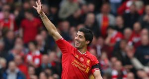 Liverpool's  Luis Suarez enjoyed a superb season for the club, scoring 31 goals and winning both the Professional Footballers' Association and Football Writers' player of the year awards.