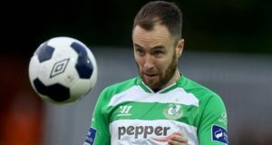 Shamrock Rovers' Seán O'Connor came through midweek friendly against Liverpool. Photograph: Inpho