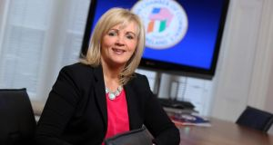Louise Phelan, the president of the American Chamber of Commerce in Ireland, on Thursday urged the Government to reduce the amount paid by those on the higher rate.