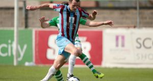 Drogheda's Daire Doyle: got the winner against Bohemians to end his side's losing sequence.   Photo: Morgan Treacy/Inpho