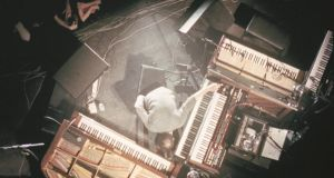 Nils Frahm performs live