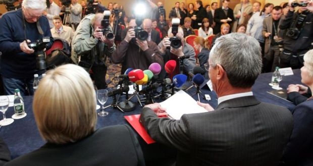 The report by the Commission to Inquire into Child Abuse was launched five years ago today. Photograph: Eric Luke