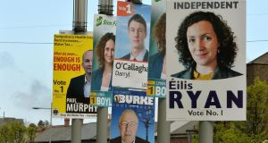 Combined support for Independents and smaller parties is at 28 per cent in today's poll. Photograph: David Sleator.