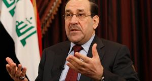 The coalition headed by Iraq's Shia fundamentalist prime minister, Nouri al-Maliki, won by far the largest number of seats in the country's parliamentary election. Photograph: AP