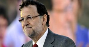 "Spanish prime minister Mariano Rajoy: called Miguel Arias Cañete ""far and away the best candidate"""