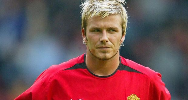 David Beckham In His Manchester United Pomp Photograph Ian Hodgson Reuters