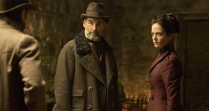 Knowing potboiler: Timothy Dalton and Eva Green in Penny Dreadful