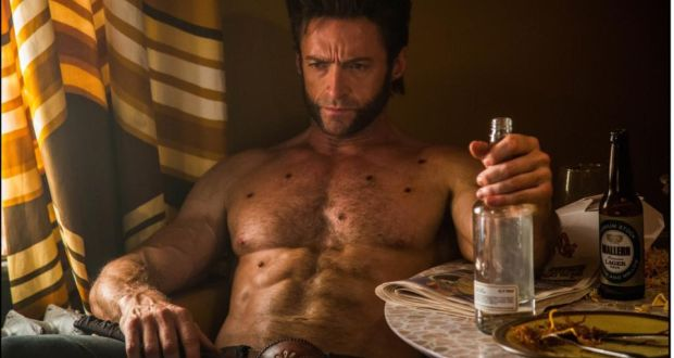 jackman on wolverine i m starting to get him now angry no jazz
