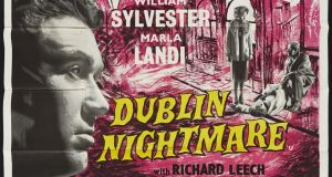 Film buff alert: A poster for Dublin nightmare, €150-€200 at Whyte's