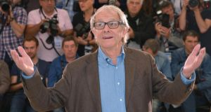 Jimmy's Hall: Ken Loach in Cannes this week for the film's premiere. Photograph: Michael Buckner/Getty