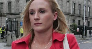 It is the first time   Gayle Killilea has been obliged to face examination in relation to her husband's hearing. Photograph: Collins Courts