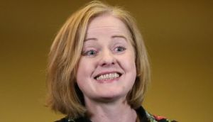 Ruth Coppinger of the Socialist Party who won the Dublin West byelection. Photograph: Niall Carson/PA Wire