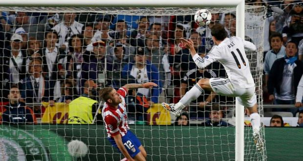 Image result for gareth bale goal vs atletico champions league final
