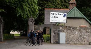 "All Hallows College, Dublin: valuer and expert in rare books Owen Felix O'Neill claimed last night the loss to the college amounted to ""quite a few million."" Photograph: Cyril Byrne"
