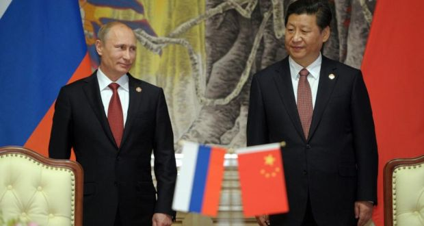 Russia China Sign 400bn Gas Deal