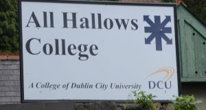 All Hallows College. The college authorities believe items missing from the college are valued in the thousands rather than millions