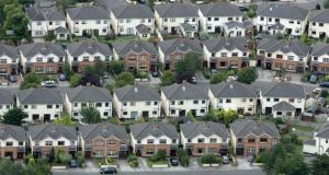 Both the Government and Economic and Social Research Institute agree that about 25,000 houses need to be built annually to satisfy current demographic trends. Photograph: Frank Miller