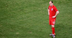 Wayne Rooney reflects on England's defeat at the hands of Germany in South Africa during the 2010 World Cup. Photograph: Cameron Spencer/Getty Images