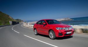 The BMW X4 is a little too weighty on bends