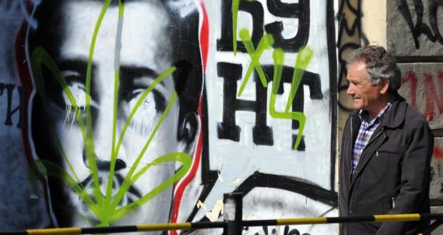 Made in the balkans the man blamed for starting the first world war vandalised graffiti in belgrade depicting gavrilo princip the cyrillic writing reads as revolt gumiabroncs Choice Image