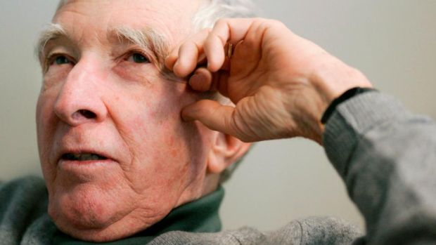 Author: John Updike. Photograph: Brian Snyder/Reuters
