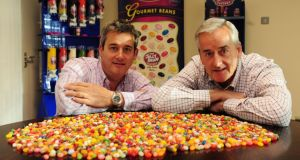 Aran Candy founders Richard and Peter Cullen  have sold their company, which is behind the Jelly Bean Factory brand, for €15.5 million. Photo: Aidan Crawley