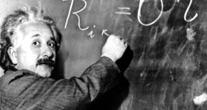 Not many people realise that GPS relies heavily on Einstein's general theory of relativity. Photograph: AP Photo/File