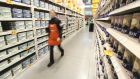 B&Q saw a sales surge in the first quarter, boosting parent company Kingfisher's profits.