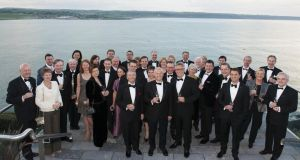 The Relais & Châteaux celebrations got underway at the Cliff House in Ardmore