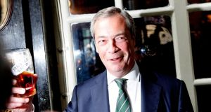 Leader of Ukip  Nigel Farage: the party determined to take Britain out of the EU.  Photograph: Getty Images