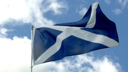 Scotland scottish flag