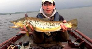 The heaviest fish for the week on Lough Sheelin was a 10lb (4.5kg) trout caught by Thomas Lynch (pictured)