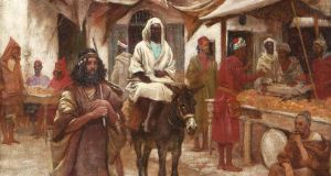 The Market Place, Tangier by Aloysius O'Kelly, made €9,500 (€4,000-€6,000) at Adam's.